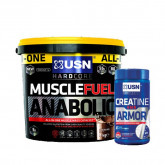 USN Muscle Fuel Anabolic 4kg + Creatine HMB Armour 120caps