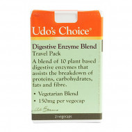 Udos Choice Digestive Enzyme Blend Travel Pack 21 Caps