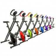 Magnetic X Bike Exercise Bike Folding Fitness Cardio Workout Weight Loss