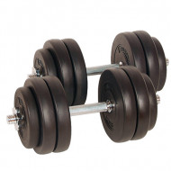 TNP ACCESSORIES® Adjustable Dumbbell 40kg Set- Free Weights