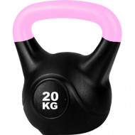 TnP Accessories Cement Kettlebell Color Pink 20Kg