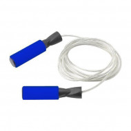 TnP Accessories Steel Wire Jump Rope Blue