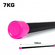 TnP Accessories Aerobic Weighted Bar 7Kg Pink