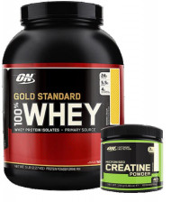 Optimum Nutrition Gold Standard Whey 2.2kg+Free Creatine 144g