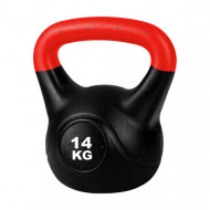 TnP Accessories Cement Kettlebell Color Red 14Kg