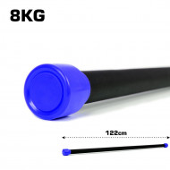 TnP Accessories Aerobic Weighted Bar 8Kg Dark Blue