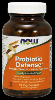 NOW FOODS Probiotic Defense 90 VCaps