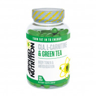 Applied Nutrition CLA L-Carnitine And Green Tea 100 Gels