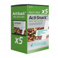 Acti Snack Fruit Nut and Soya 5x35g